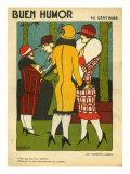Buen Humor, Magazine Cover, Spain, 1926 Prints