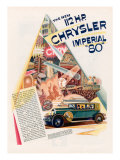 Chrysler Imperial, Magazine Advertisement, USA, 1928 Poster