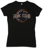 Juniors: Pink Floyd - Circle Dark Side T-Shirts