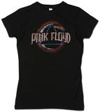 Juniors: Pink Floyd - Circle Dark Side - T-shirt