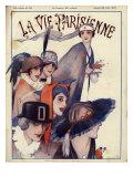 La Vie Parisienne, Magazine Cover, France, 1915 Prints