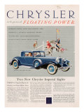 Chrysler, Magazine Advertisement, USA, 1932 Posters