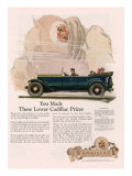 Cadillac, Magazine Advertisement, USA, 1925 Art
