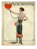 La Vie Parisienne, Magazine Cover, France, 1925 Prints