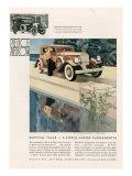 Pierce Arrow, Magazine Advertisement, USA, 1931 Prints