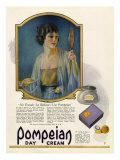 Pompeian Day Cream, Magazine Advertisement, USA, 1920 Prints