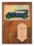 Cole, Magazine Advertisement, USA, 1922 Prints