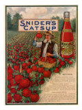 Sniders Catsup, Magazine Advertisement, USA, 1920 Giclee Print