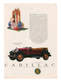 Cadillac, Magazine Advertisement, USA, 1927 Affiches