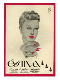 Esma, Magazine Advertisement, Spain, 1942 Prints