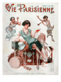 La Vie Parisienne, Magazine Cover, France, 1929 Prints
