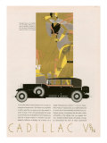 Cadillac, Magazine Advertisement, USA, 1931 Affiches