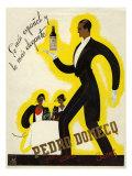 Pedro Domecq, Magazine Advertisement, Spain, 1920 Giclee Print