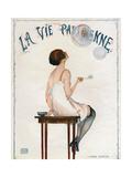 La Vie Parisienne, Magazine Cover, France, 1927 - Giclee Baskı