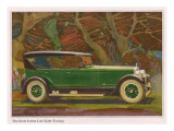 Jordan Line Eight Touring Car, Magazine Advertisement, USA, 1925 Prints