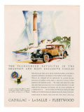 Cadillac La Salle, Magazine Advertisement, USA, 1929 Affiches