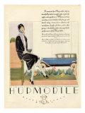 Hupmobile, Magazine Advertisement, USA, 1929 Art