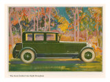 Brougham Car, Magazine Advertisement, USA, 1925 Giclee Print