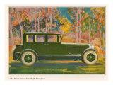 Brougham Car, Magazine Advertisement, USA, 1925 Art