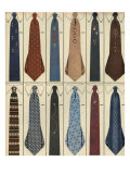 Ties, Magazine Advertisement , USA, 1950 Photo