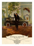 Pierce-Arrow, Magazine Advertisement, USA, 1920 Prints