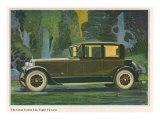 Jordan Line Eight Victoria Car, Magazine Advertisement, USA, 1925 Prints