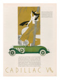Cadillac, Magazine Advertisement, USA, 1931 Reproduction procédé giclée
