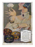 Perfumeria, Magazine Advertisement, Spain, 1929 Giclee Print
