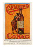 Caballero, Magazine Advertisement, Spain, 1920 Giclee Print