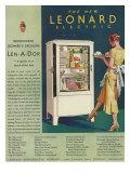 Leonard, Magazine Advertisement, USA, 1920 Giclee Print
