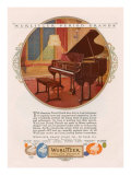 Wurlitzer, Magazine Advertisement, USA, 1920 Giclee Print