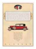 Cadillac, Magazine Advertisement, USA, 1931 Giclee Print