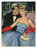 John Bull, Magazine Plate, UK, 1950 Giclee Print