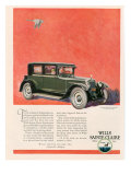 Wills Sainte Claire, Magazine Advertisement, USA, 1925 Giclee Print