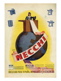 Necchi, Magazine Advertisement, Spain, 1942 Giclee Print