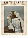 Le Theatre, Magazine Cover, France, 1899 Prints
