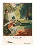 Pierce Arrow, Magazine Advertisement, USA, 1925 Giclee Print