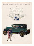 Buick, Magazine Advertisement, USA, 1927 Posters