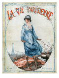 La Vie Parisienne, Magazine Cover, France, 1918 Prints