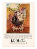 Lloyd Loom, Magazine Advertisement, USA, 1927 Giclee Print
