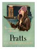 Pratts, Magazine Advertisement, UK, 1930 Art