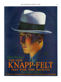 Knapp-Felt, Magazine Advertisement, USA, 1920 Art