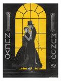 Nuevo Mundo, Magazine Cover, Spain, 1927 Prints