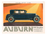 Aubern, Magazine Advertisement, USA, 1926 Giclee Print