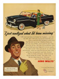 Aero Willys, Magazine Advertisement, UK, 1954 Posters