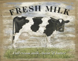 Fresh Milk Poster by Martin Wiscombe