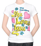 Juniors: The Beatles - She Loves You T-shirts