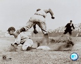 Ty Cobb - Sliding into base Posters