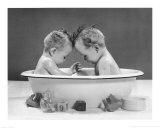 Dos bebés Pósters por H. Armstrong Roberts