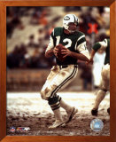 Joe Namath - preparing to pass - &#169;Photofile Art